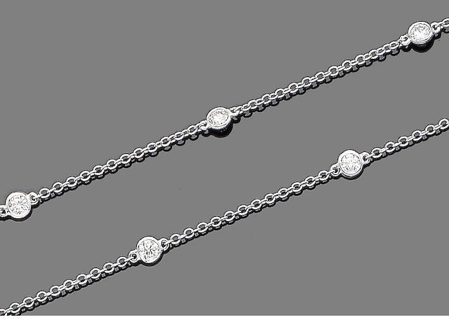 A diamond-set longchain