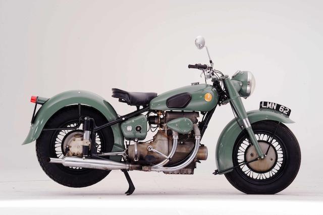 1951 Sunbeam 487cc S7 De Luxe  Frame no. S7 5479 Engine no. S8 8073