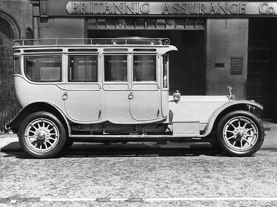 """The Corgi"",1912 Rolls-Royce 40/50hp Double Pullman Limousine  Chassis no. 1907 Engine no. 127"
