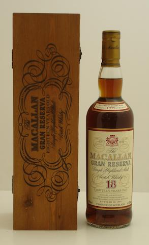 Macallan Gran Reserva-18 year old-1979