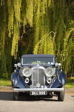 1937 Lagonda LG45 4½-Litre Drophead Coupé  Chassis no. 12158/G10 Engine no. LG45/317/S3