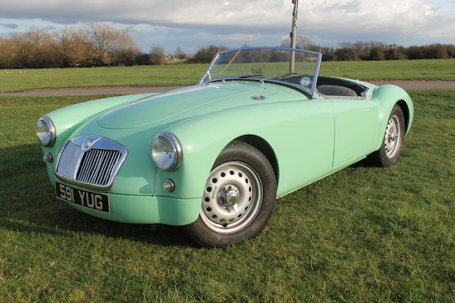 1959 MGA Twin Cam Roadster  Chassis no. YD 3/792