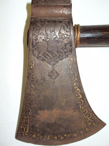 An Indo-Persian axe head