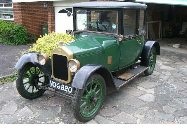 1922 Wolseley E3 Doctors Coupe