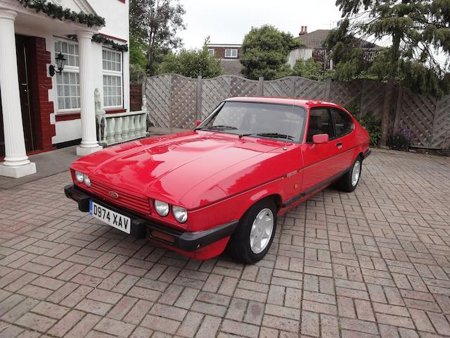 1986 Ford Capri MkIII 2.8i Coupé  Chassis no. WFOCXXGAECGS34626 Engine no. GS34626