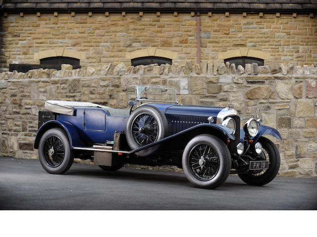 1929 Bentley 4 ½ litre Vanden Plas style Tourer  Chassis no. RL3441 Engine no. 3444