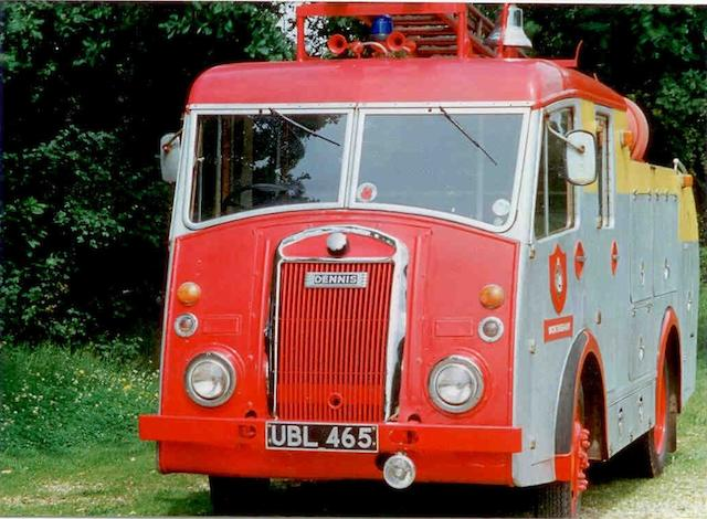 1959 Dennis F8 Fire Engine  Chassis no. 4448F8