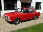 1969 Ford Cortina MkII Deluxe Saloon to '1600E' Specification  Chassis no. BA93JB03472
