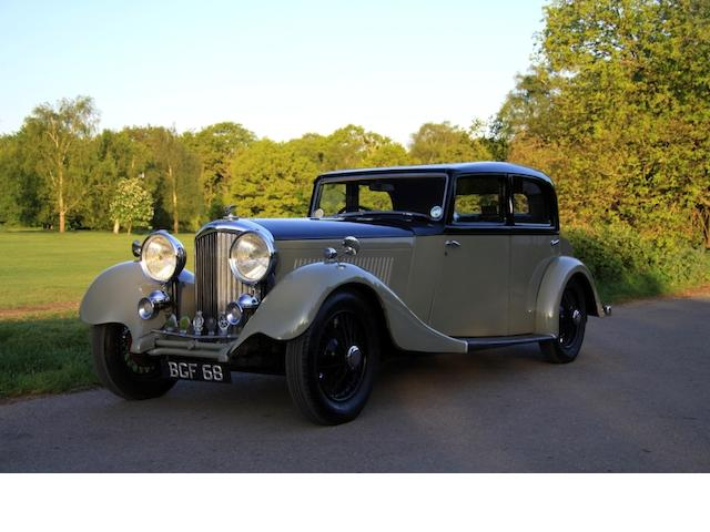1934 Bentley 3 1/2 Derby Sports Saloon