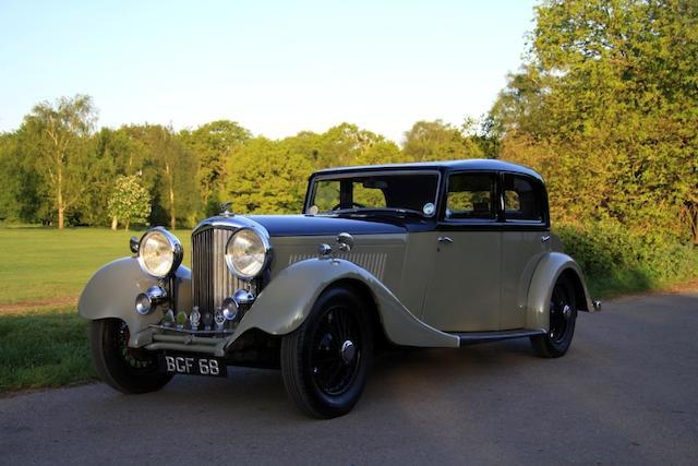 1934 Bentley 3 1/2 Derby Sports Saloon
