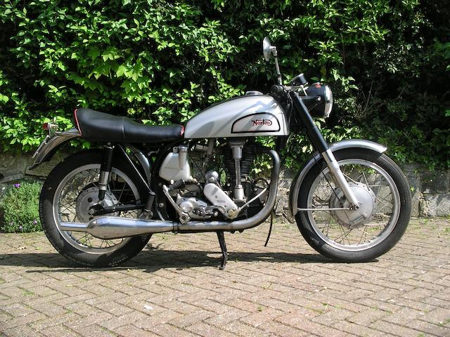 1956 Norton 490cc International Model 30