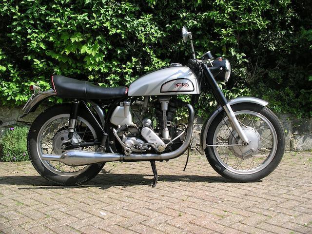 1956 Norton 490cc Model 30 International Frame no. L11 69728 Engine no. 69728 L11