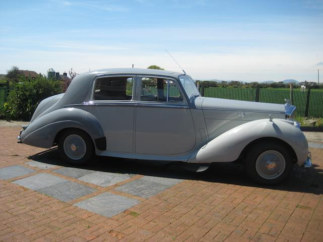 1953 Bentley R-Type 4½-Litre Saloon  Chassis no. B415SP Engine no. B457S