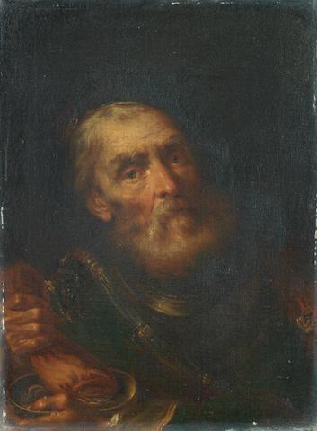Giuseppe Nogari (Venice 1699-1763) The Moneylender