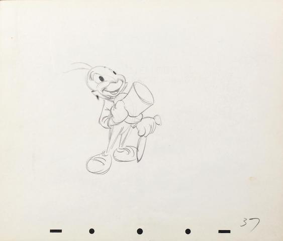 Walt Disney Studio: Pinocchio, 1940,