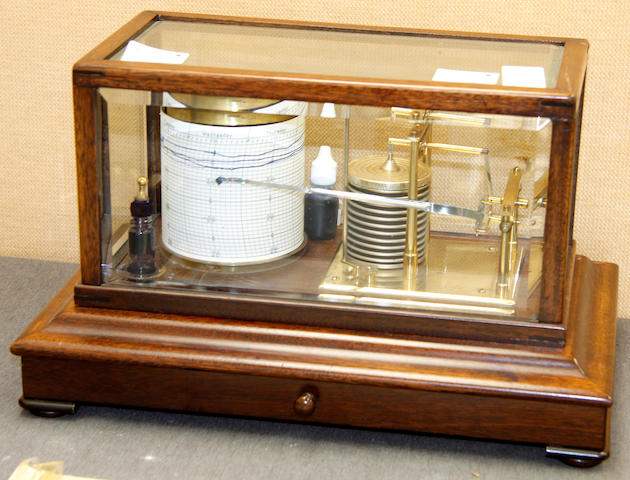 Short and Mason, London A barograph,