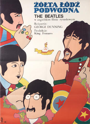 The Beatles: Yellow Submarine (Żółta Łódź Podwodna), King Features, 1968,