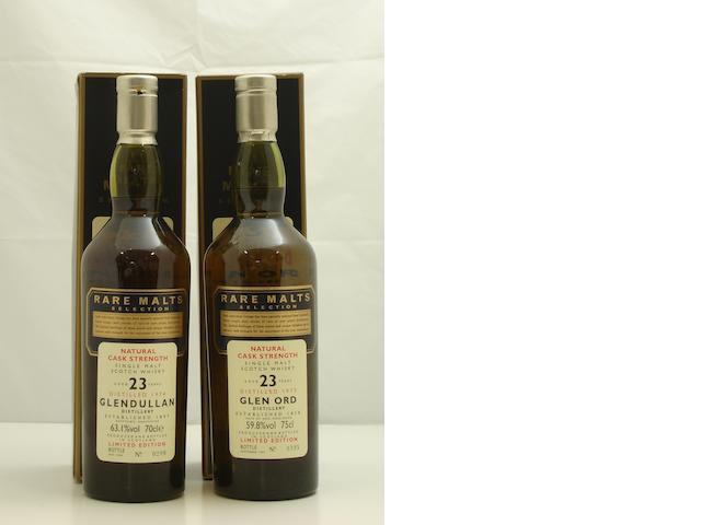 Glendullan-23 year old-1974<BR /> Glen Ord-23 year old-1973