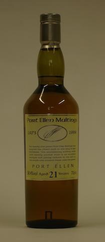 Port Ellen Maltings 25th Anniversary-21 year old