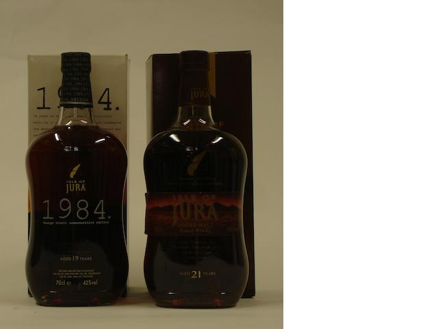 Isle of Jura-19 year old-1984<BR /> Isle of Jura-21 year old