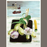 Mary Fedden R.A. (British, born 1915) Still life 2003