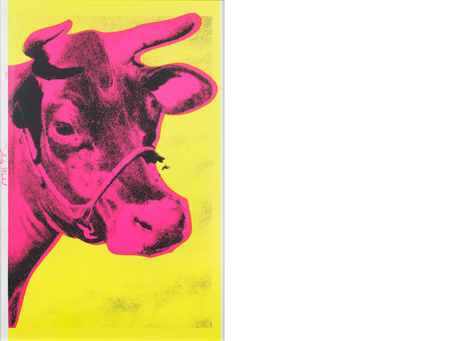 Andy Warhol (American, 1928-1987) Cow Colour screenprint, 1971, on wove, 1105 x 755mm (45 1/4 x 29 3/4in)(SH)