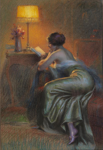 Delphin Enjolras (French, 1857-1945) Le roman