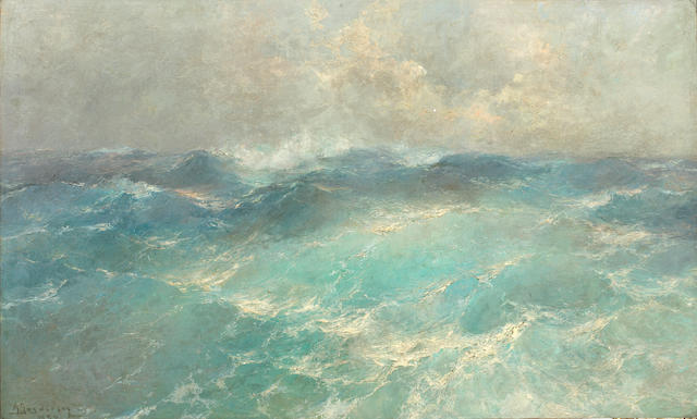 Arseni Sosnovsky (Russian, 1865-1967) Seascape