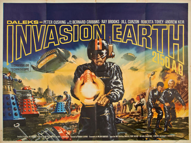 Daleks' Invasion Earth: 2150 A.D.,  British Lion Films, 1966,