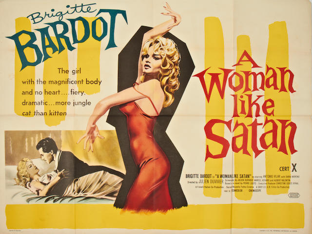 A Woman Like Satan, United Artists, 1959,