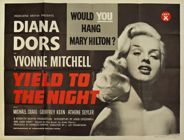 Yield To The Night (aka Blonde Sinner), Associated British-Pathé, 1956,