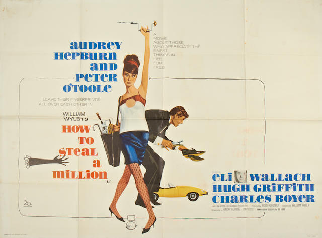 A collection of five Audrey Hepburn and Musical related British quad posters, titles: 5