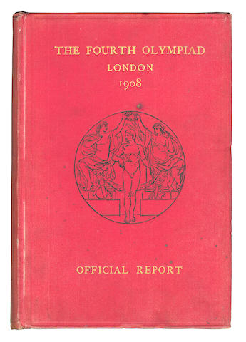 1908 London Olympics The Fourth Olympiad being the Offical Report of The Olympic Games of 1908 celebrated in London under the patronage of His Most Gracious Majesty King Edward VII, The British Olympic Association, [1908]