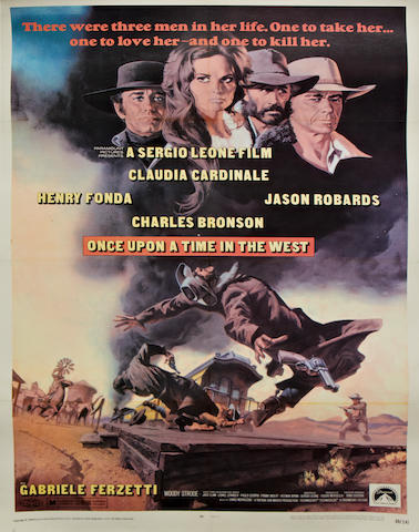 Once Upon A Time In The West,  Paramount Pictures, 1969,