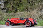 47 years in the current ownership,1929 Alfa Romeo 6C 1750 SS Supercharged Spyder  Chassis no. 0312897 Engine no. 0312897