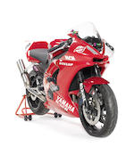 The ex-Tommy Hill, Virgin Mobile Cup-winning,2003 Yamaha R6 599cc Production Racing Motorcycle Frame no. JYARJ051000007735