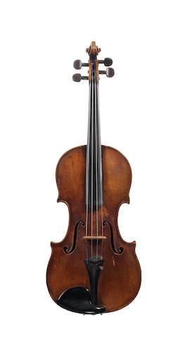 A Violin by Carl Franz Schmidt, Vienna 1854 (2)