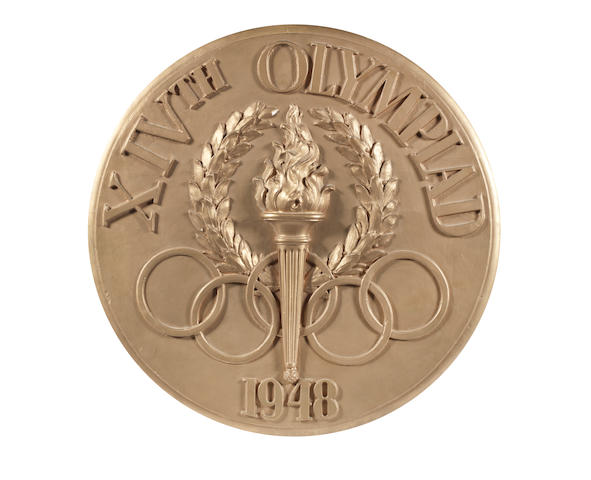 1948 London Olympic games opening ceremony plaque