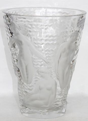 A 'Ondines' Lalique vase