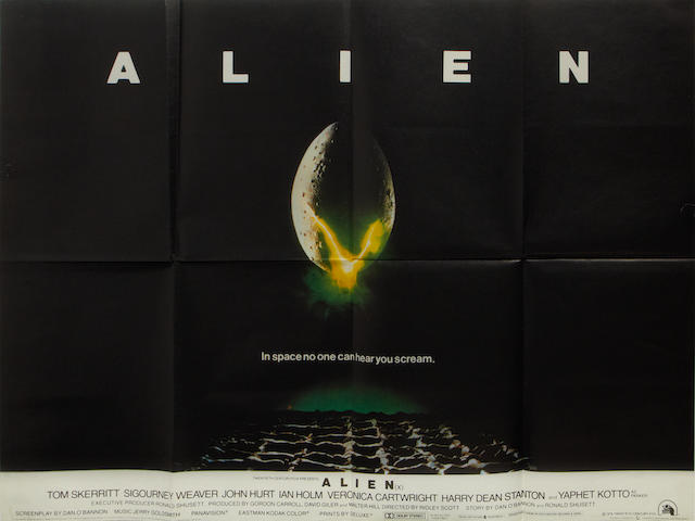 Alien,  Twentieth Century Fox, 1979,