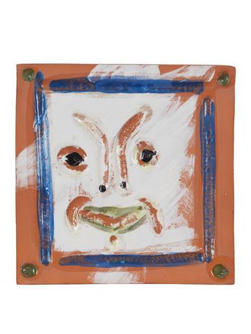 Pablo Picasso (Spanish, 1881-1973) Masque rieur
