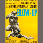 Blow Up Italian two-folio poster,