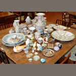 A large collection of Chinese famille rose ceramics, 19th and 20th Century in date,