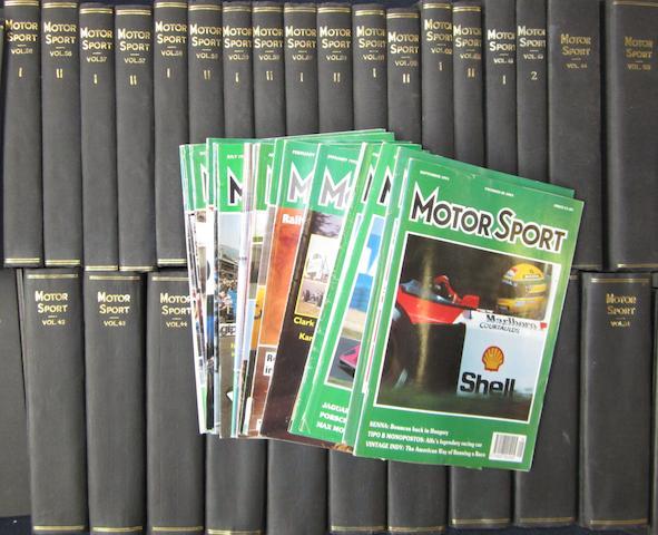 Motor Sport, 1950-1990,