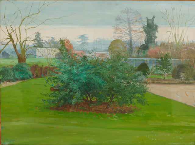 Margaret Green (British, 1925-2003) Evening, Buxhall Vale