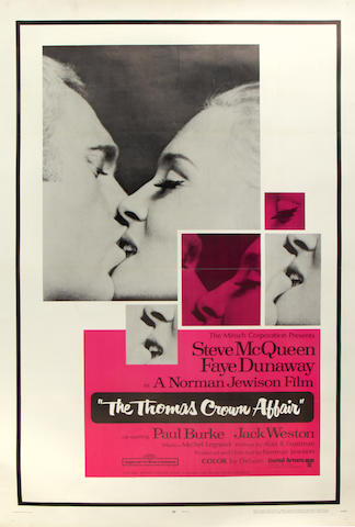 The Thomas Crown Affair, United Artists, 1968,