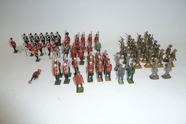 Britains British Commonwealth Troops 180 approx