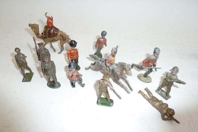 British made Hollowcast toy soldiers 1900-1955 370 approx