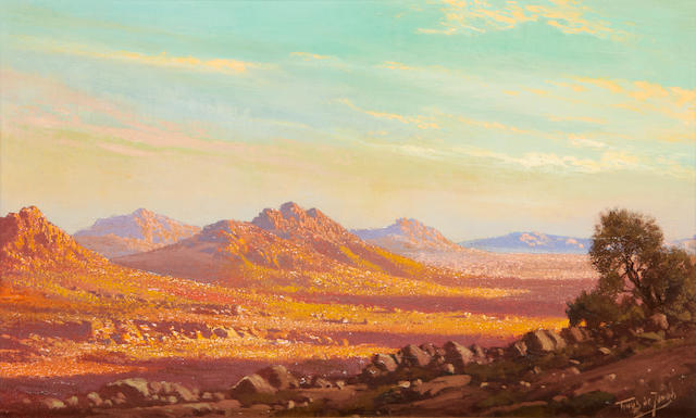 Marthinus (Tinus) Johannes de Jongh (South African, 1885-1942) The Karoo