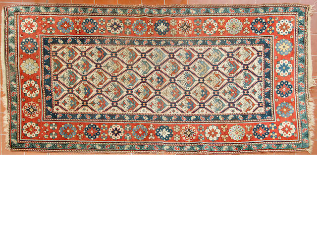 A Shirvan rug and a Lesghi rug